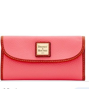 DOONEY & BOURKE Pebble Grain Continental Wallet